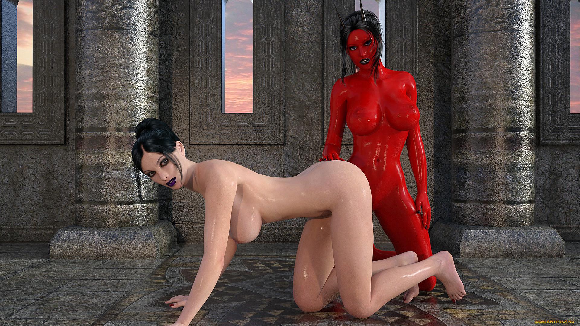 Succubus 3d lesbians nsfw picture